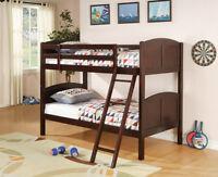 ★LORD SELKIRK FURN - BRAND NEW TWIN/ TWIN BUNK BED $249