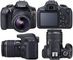 Canon Rebel T6 with 18-55mm Lense