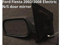2002/2008 ford fiesta n/s electric door mirror