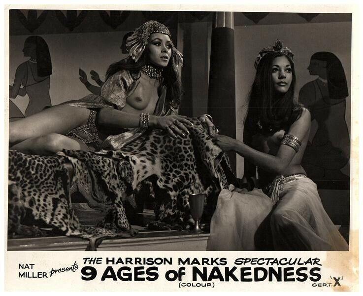 The Nine Ages of Nakedness Original Lobby Card Carol Hamilton Patricia Kluge