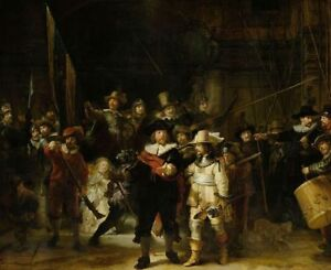 CADRE CLASSIQUE - CLASSICAL PAINTING The Nightwatch by Rembrandt