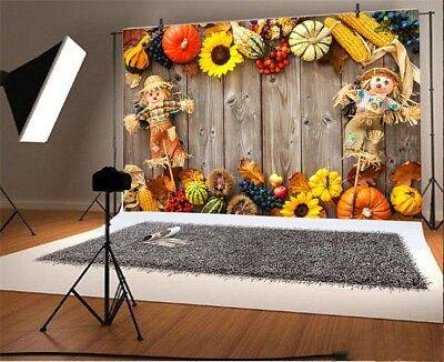 Thanksgiving Day Pumpkin 7x5ft Photography Vinyl Backgrounds Photo Backdrops (Thanksgiving Backdrop)