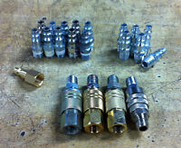 Air tool compressor fittings