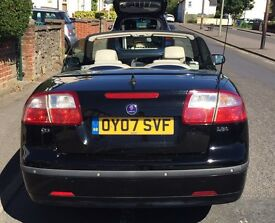 Saab 9-3 Convertible 2007 - Electric cabriolet hood - perfect for the Summer