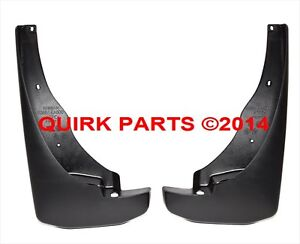 nissan pathfinder splash guards ebay. Black Bedroom Furniture Sets. Home Design Ideas