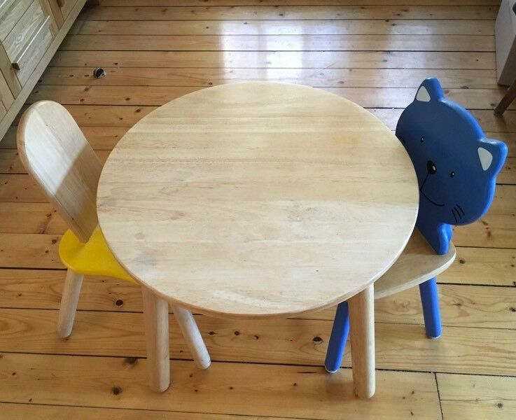 Toddlers Table and Chairs: Pintoy: Solid Wood | in Grange, Edinburgh ...