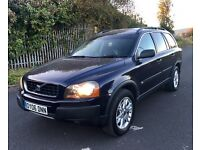 VOLVO XC90 SPORT D5 AUTOMATIC 2006 FULL SERVICE HISTORY FULL HEATED BLACK LEATHER DRIVE AWAY TODAY!