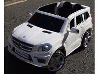Mercedes GL63 12v Parental Remote Control Self Drive