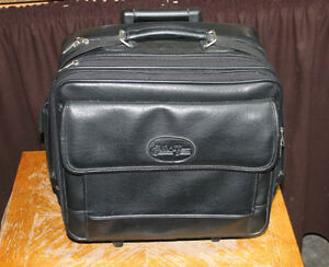 Bugatti Laptop Business Travel Case on Wheels Simulated leather