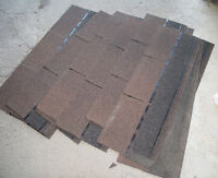 14 Brown EP Shingles for Roof or Cabane/14 Bardeaux EP