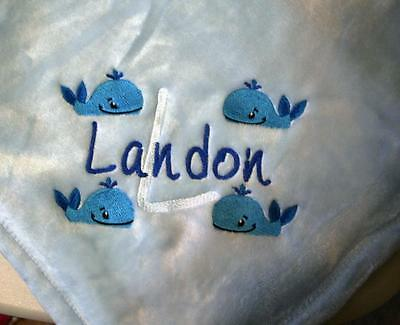 Personalized Monogrammed Baby Blanket Soft Tahoe Fleece Several Colors & Designs](Personalized Baby Stuff)