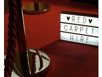 Red Carpet Party Hire