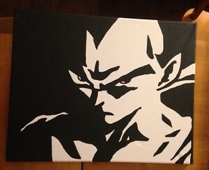 "20"" X 16"" Vegeta canvas painting"