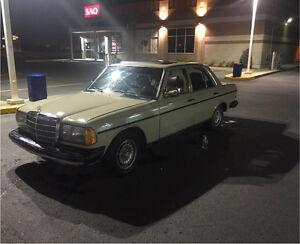 Mercedes 300D 5cyl turbo diesel