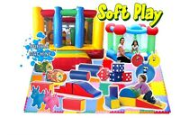 Soft play Activity bouncy Castle hire and Bubble machine hire £120