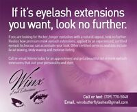 Premium Mink Butterfly Eyelash Extensions/Facial and body waxing