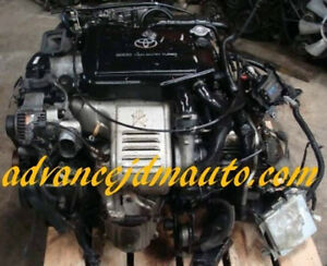 Toyota Celica GTE 3S Engine with Trany