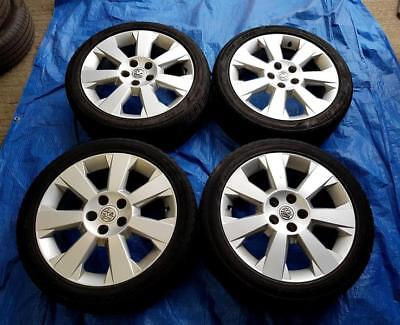 "Vauxhall Vectra 17"" Alloy Wheels PCD 5x110mm 7Jx17 ET41 225/45R17"