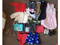 For sale the baby and children clothes