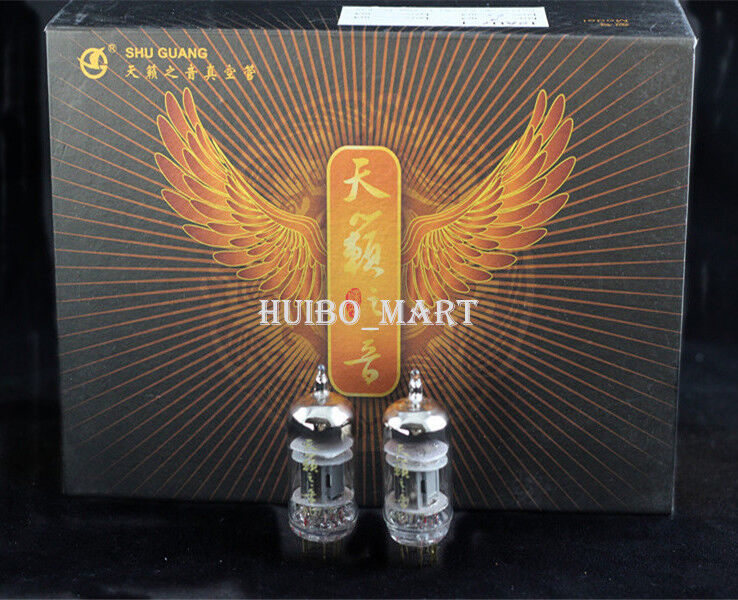 New Matched Pair Shuguang Nature Sound Series 12AU7-T Vacuum Tubes 12AU7 ECC82