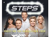 2 x Steps tickets