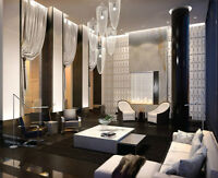 New Furnished 1 Bedroom Luxury Condo at Yorkville: Davenport & B