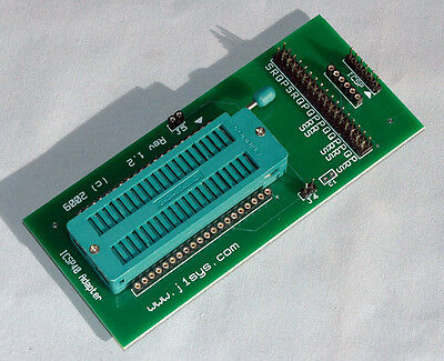 Icsp Adapter Zif 40 Pin Pic Use With Pickit 2 3 Or 4