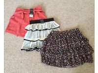 Brand New High Waisted Shorts and Skirts Miss Selfridge & New Look