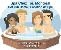 Hot Tub Rental - Spa Chez Toi