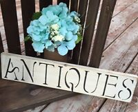 Hand-Painted Antiques Sign