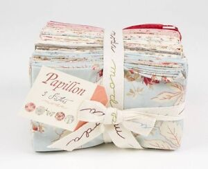 Papillon Fabric Collection 40 Fat 8's & Fabric By the Meter