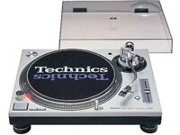 A Rare Mint PAIR of Technics 1200 M3D With professional flight cases