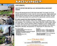 LAST minute MOVERS,, -licensed moving company  same LOWEST rates
