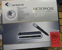 GRF WUHF 1000 wireless microphone On sale,Store Closing