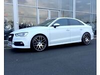 AUDI & MERCEDES 19 inch CSL Alloy Wheels Alloys - Excellent Condition - A3 A4 A5 GOLF RS4 S3 C63
