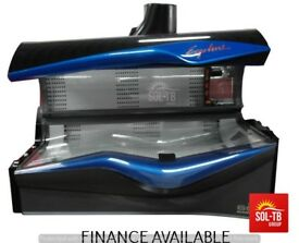 SUNBED ERGOLINE 600 AVANTGARDE BREEZE -MIST MP-3 LED -BLUE