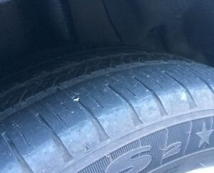 (4) goodyear eagle run flat 225/50/17