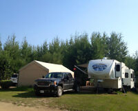 REDUCED! 2011 5th Wheel with Lease Lot. Spruce Point, Slave Lake