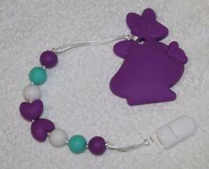 Kangaroo - Silicone Teething Pacifier Clip Greenwood Joondalup Area Preview