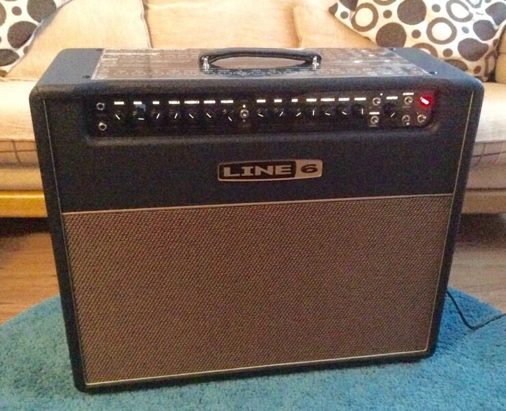 LINE 6 DT50 212 Guitar Ampin Lochgilphead, Argyll and ButeGumtree - LINE 6 DT50 212£350 or nearest offer.Line 6 DT50 212 50 watt all valve 2x12 combo amp.DT50 212 has four classic amp voices American Clean (Fender), English Crunch (Marshall), English Chime (Vox) and Modern High Gain (Mesa Boogie). Power output can...