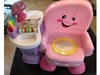 Fisher price laugh and learn story time chair