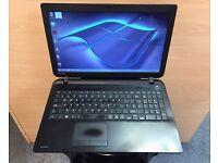 Toshiba HD Slim Laptop, 320GB, 4GB Ram (Kodi) HDMI, Microsoft office, Good Conditon