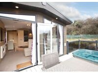 7 night stay in luxury lodge in Cornwall