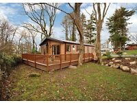 Pre-Owned Lodge with HOT TUB in NORTH WALES - 5-Star Park.