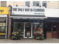 PART TIME FLORIST WANTED