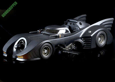 "READY AUTHENTIC HOT TOYS DC COMICS 1989 CLASSIC BATMOBILE 39"" NO BOX NEW MMS170"