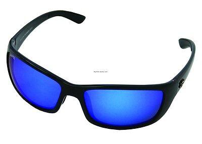 New Polarized Calcutta Bimini Sunglasses Black Frame/Blue Mirror Lens (Calcutta Bimini Sunglasses)