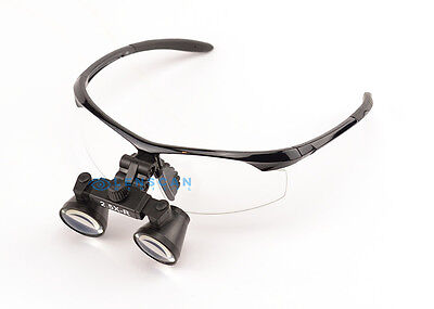 Extra Light Flip Up Dental Loupe Surgical Loupe 2.5x With Black Sporty Frame