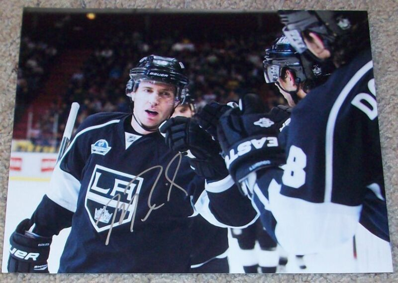 MIKE RICHARDS SIGNED L.A. LOS ANGELES KINGS 8x10 PHOTO w/PROOF AUTOGRAPH