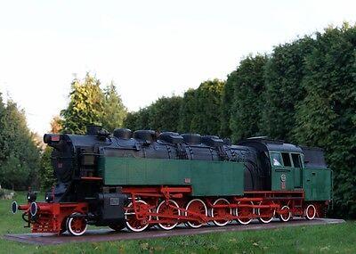 Modelik 04/16 - Dampflokomotive 1-6-2 BULGAR mit Lasercutteilen